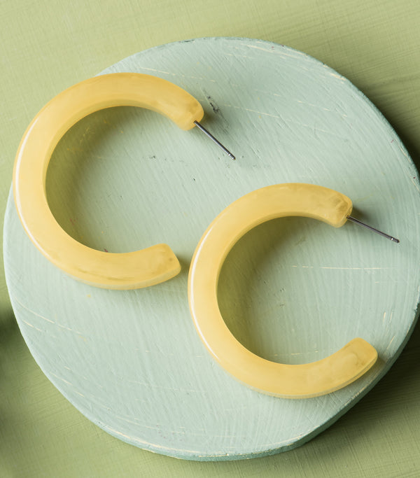 Mellow Yellow Hoops