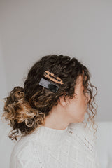 She Fierce Hair Clips-Black