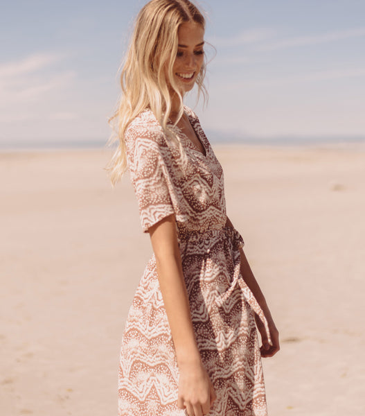 Everything & More Dress - Dusty Pink