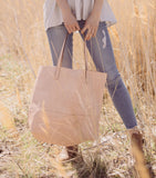 Large Shopper Tote - Blush