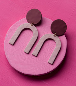 Mauve Moment Earrings