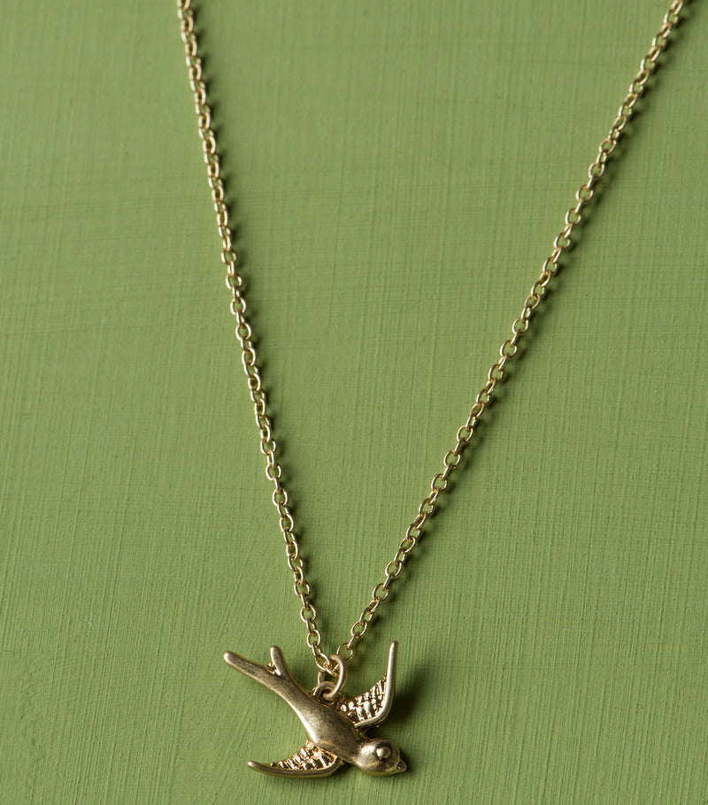 Singing Swallow Pendant