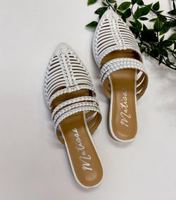 St. Tropez Shoe -White