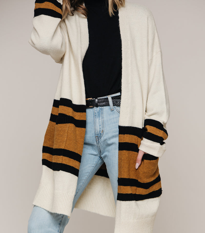 Leslie Stripe Sweater