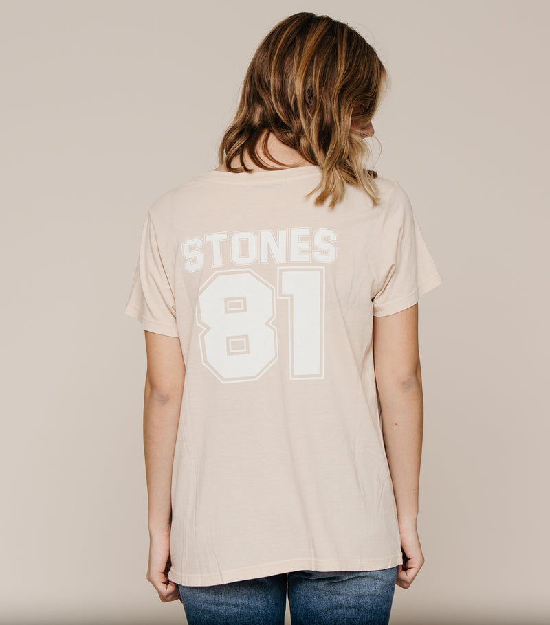Stones Around The World Boyfriend Tee