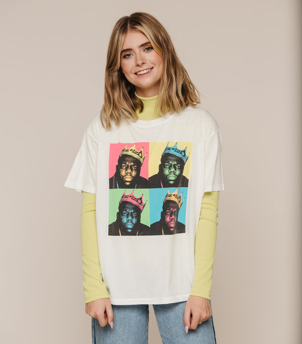 Biggie Pop Color Boyfriend Tee