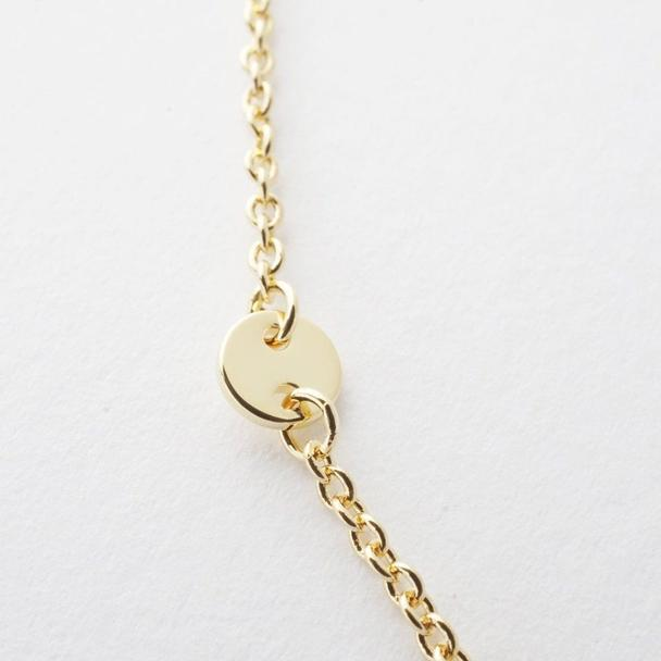 Milky Way Disc Chain Bracelet