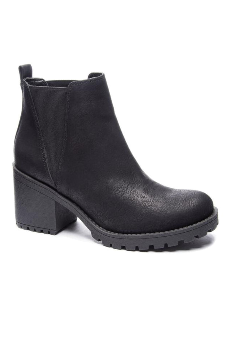 Black Lisbon Chunky Boot