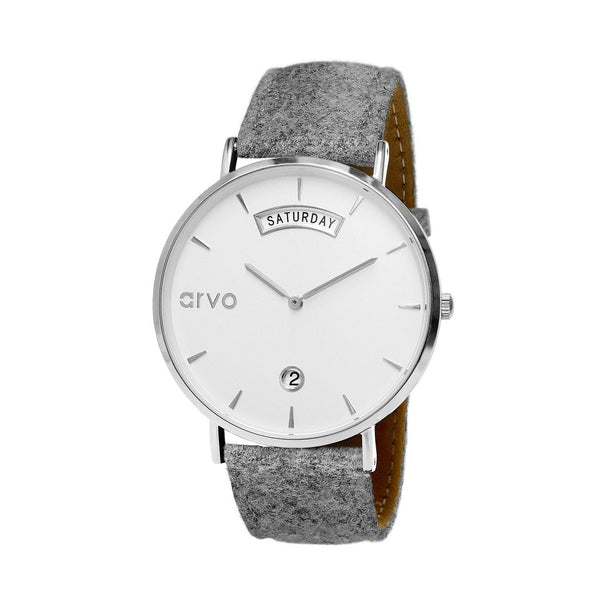 The Awristacrat | Grey Felt 36mm