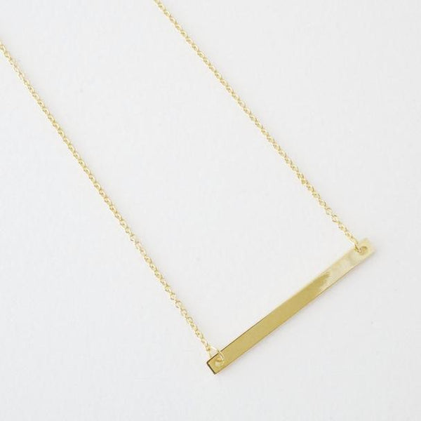 Classic Bar Necklace