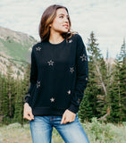 Shine Bright Sweater-Black