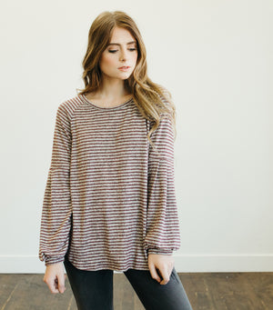Block Party Stripe Sweater