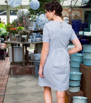 Mary Gingham Dress