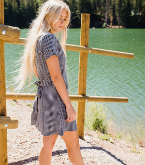 Bethany Gingham Dress