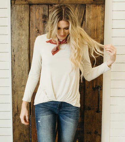 Day Dream Top-Antique White
