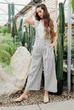 Sophie Overall Pant-Ivory