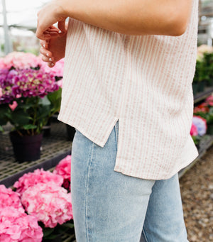 Joyful Stripe Top