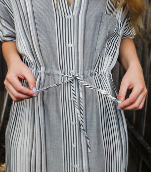 Stay Cool Stripe Dress