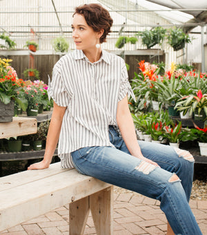 Only Yours Stripe Blouse