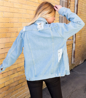 Boyfriend Denim Jacket Abroad