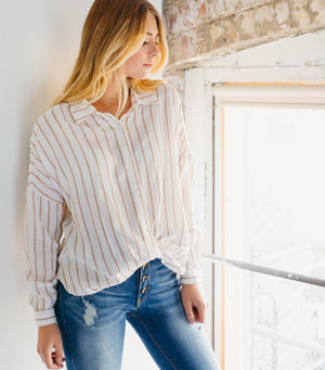 All Girl Stripe Blouse