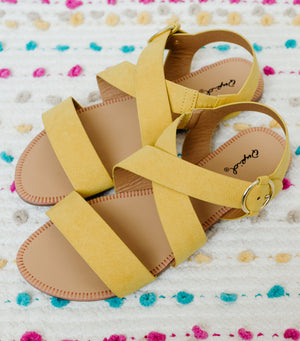 Archer Sandal-Yellow