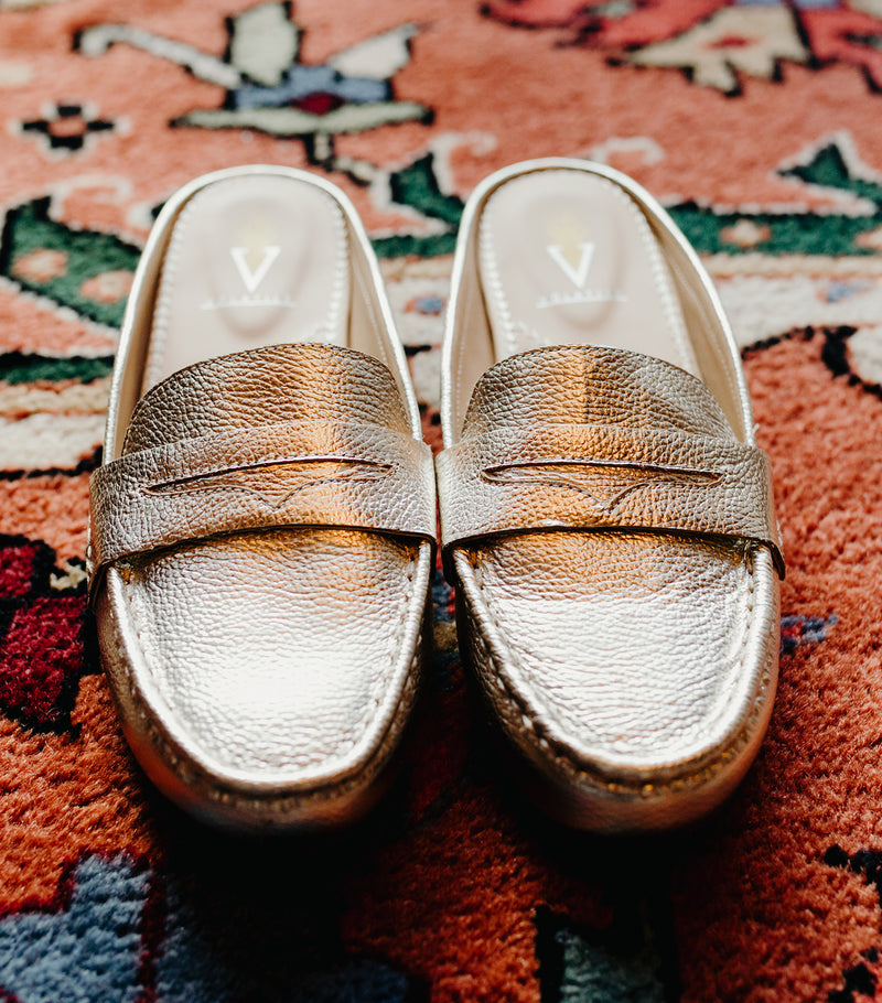 Showcase Loafer-Gold