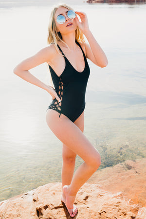 Ashdon Lace Up One Piece