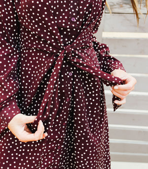 Darling Dotted Dress