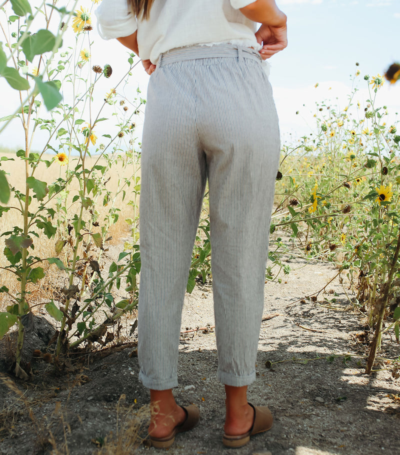 Railroad Stripe Pant