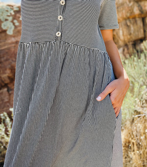 Mindy Stripe Dress