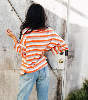 Simple Striped Top