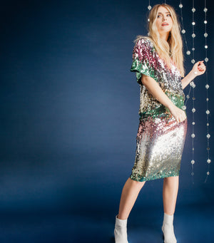 Starlight Sequin Skirt