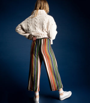 Multistripe Knit Pants