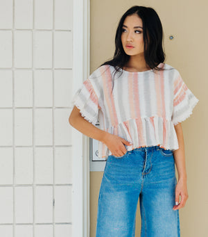 Coastal Stripe Top