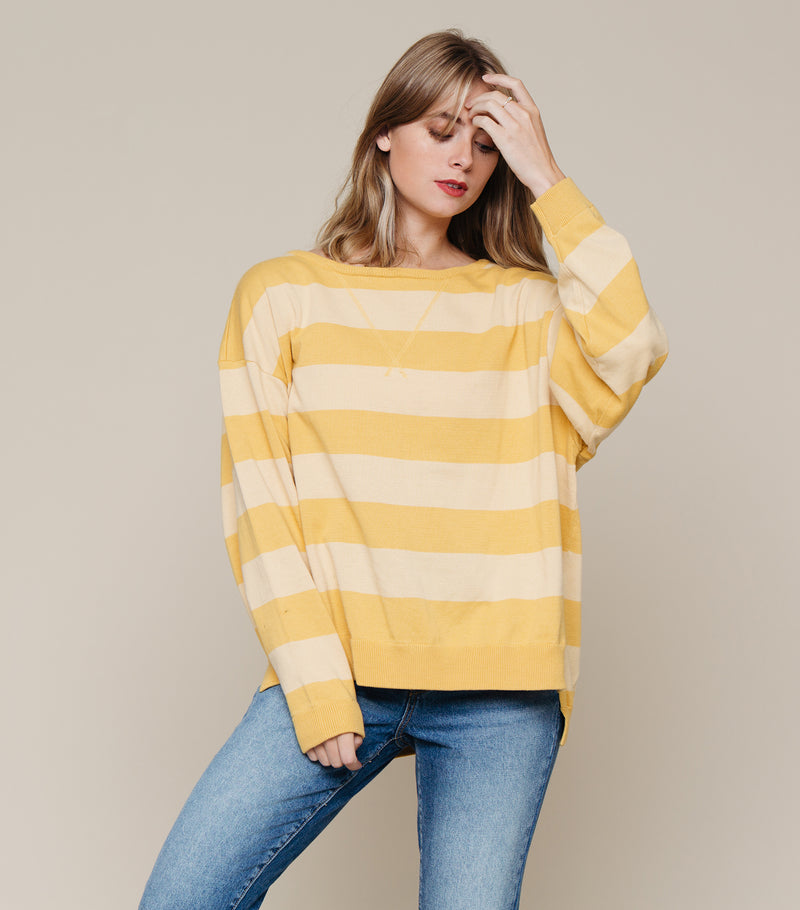 Renee Stripe Sweater