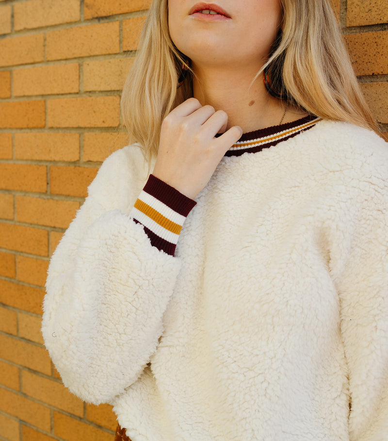 Cozy Faux Fur Top