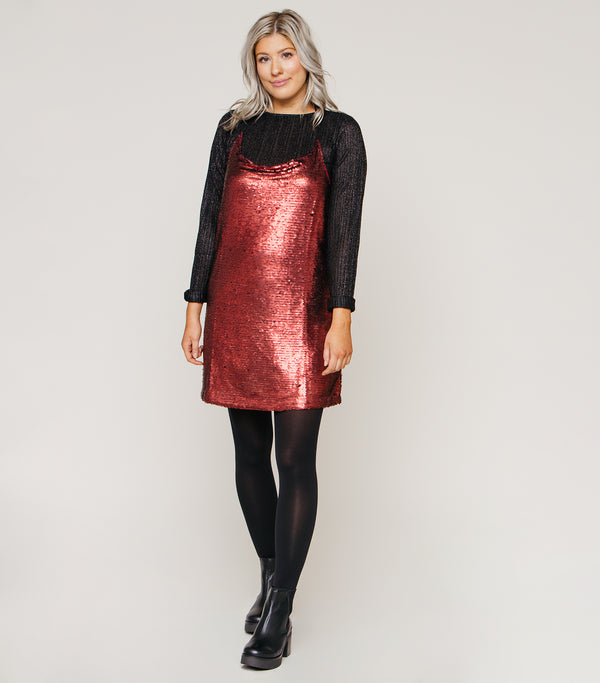 SEQUIN GIRL DRESS