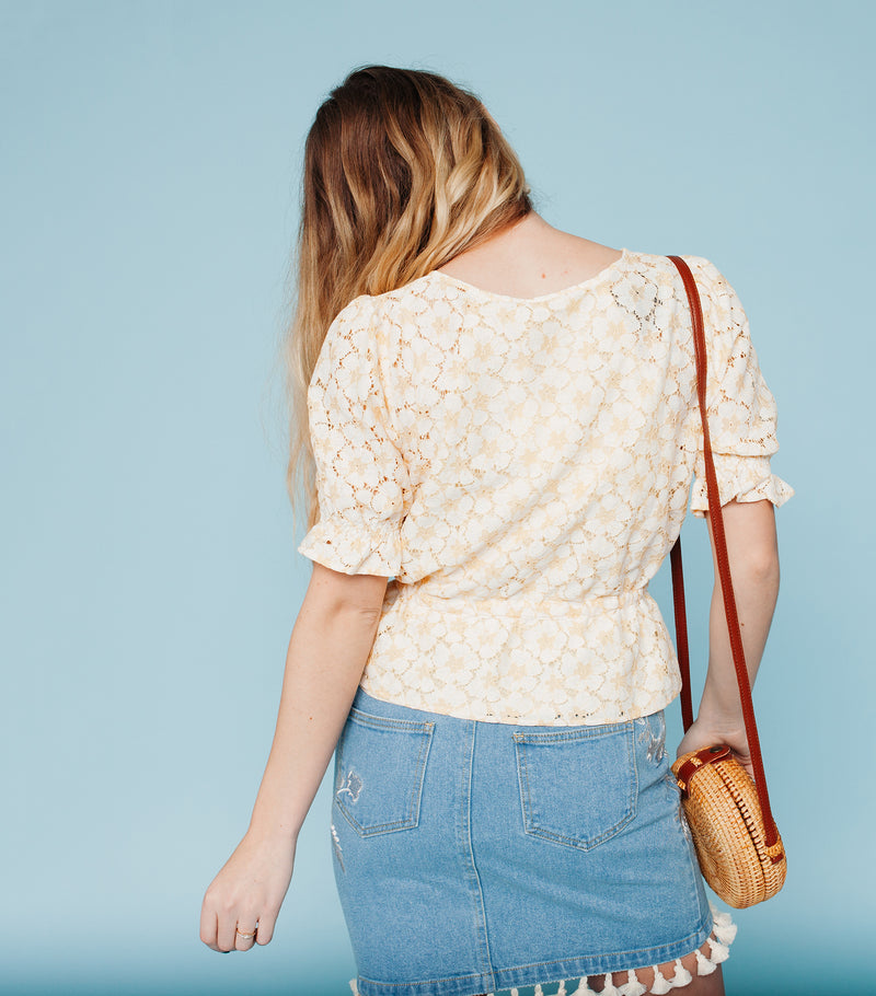 Meadow Stroll Top