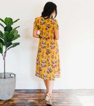 Changing Colors Floral Dress