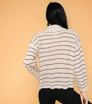 Snowfall Stripe Sweater