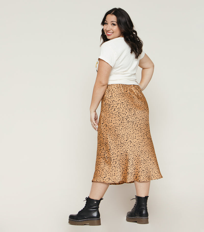 Animal Kingdom Midi Skirt