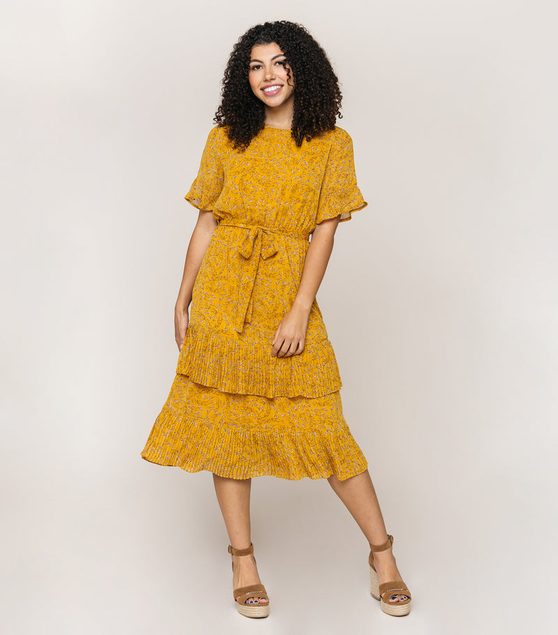 Yellow Rover Dress