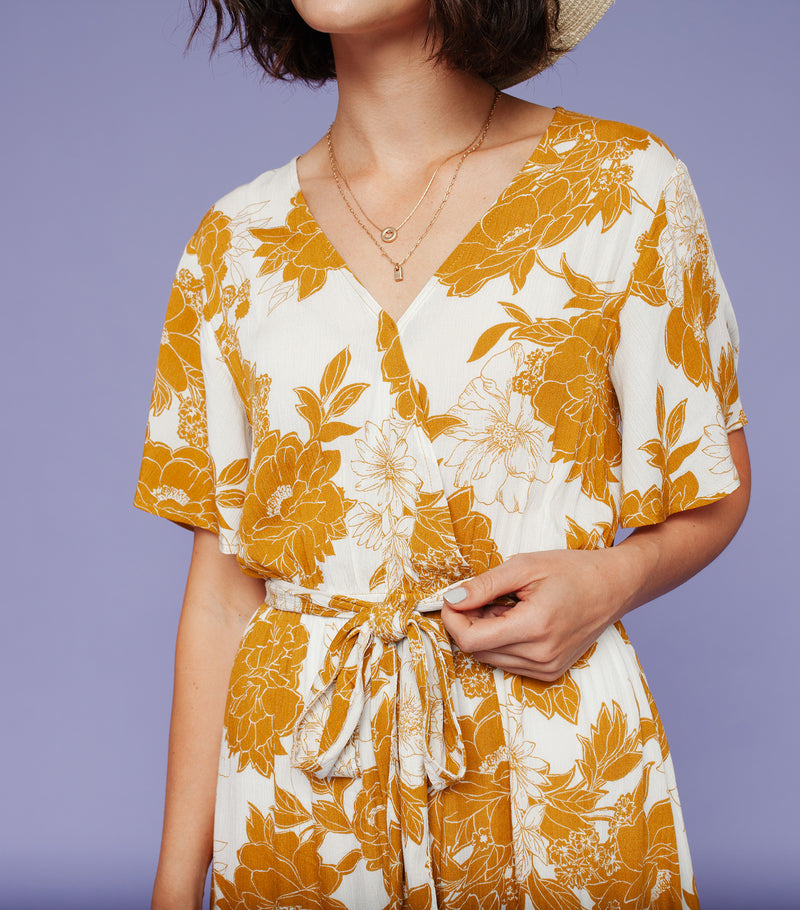 Sunkissed Floral Dress
