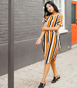 Ruth Stripe Dress