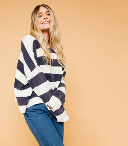 Sammy Striped Sweater