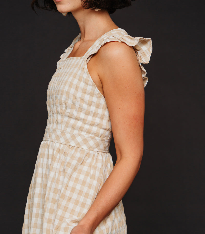 Ginger Gingham Dress