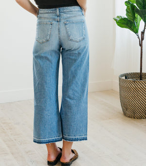 Front Slit Denim