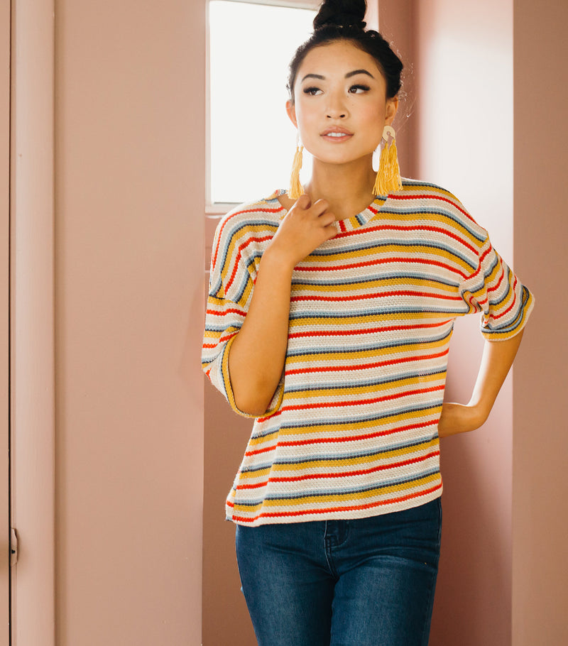 Old  School Stripe Tee