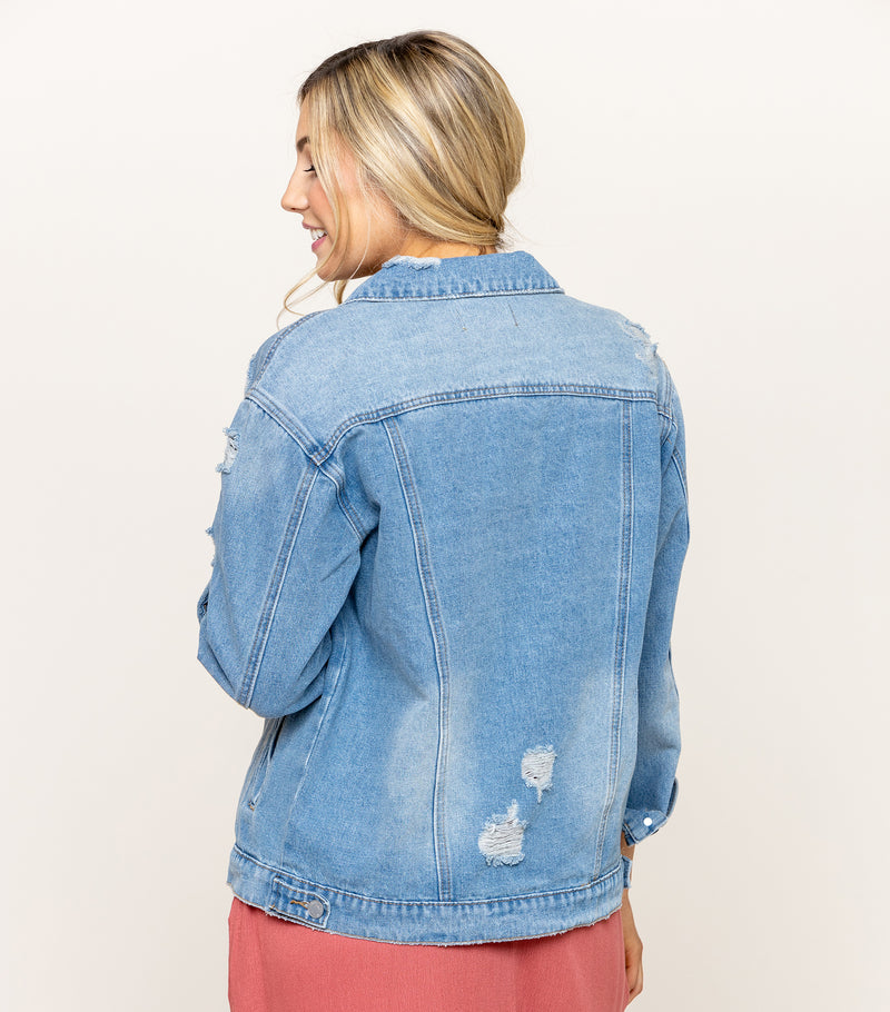 Too Cool Denim Jacket